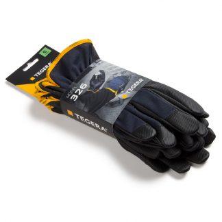TEGERA 326: Synthetic leather, Reinforced, Cat. II, Grip Glove - tegera326