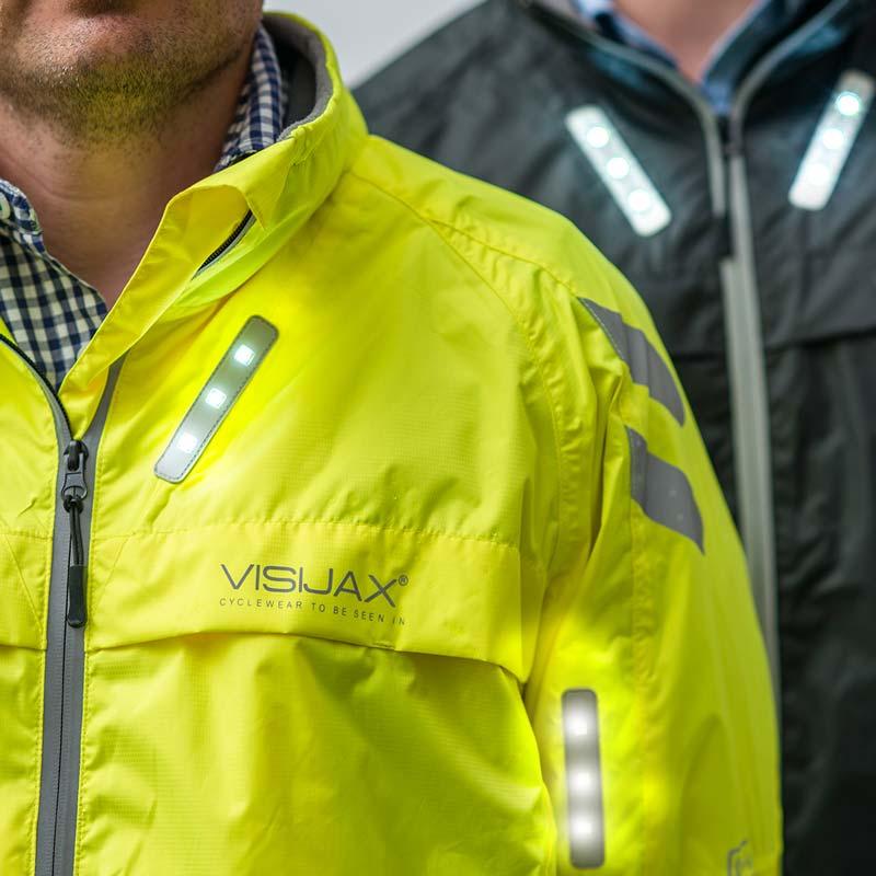 4caac5473 LED Hi-Vis 'Commuter' Front & Rear Indicators Jacket