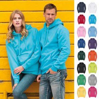 295gsm 50/50PC Adults Set-In Hooded Sweatshirt - JSA575-main
