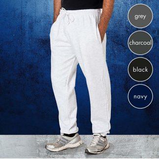 Adults 70/30 CP Premium Jog Pants - TJA01-grey