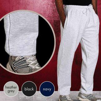 Adults 50/50 PC Premium Open Hem Jog Pants - TJA02