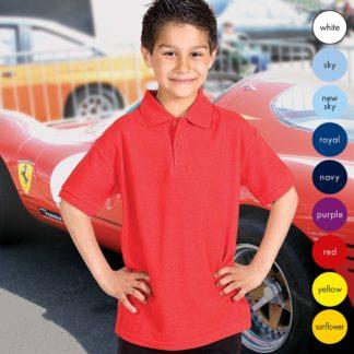 Kids Extra Premium Polo TPK01