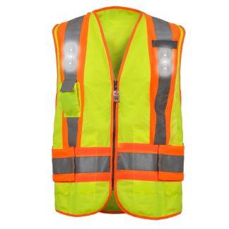 LED Lights - Hi-Vis Adjustable Safety Vest VVEA4052-Hi-Vis-Adjustable-Safety-Vest-with-LED-Lights-main