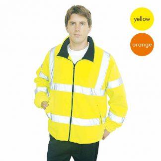 Hi-Vis Mesh Lined Fleece-WFA300