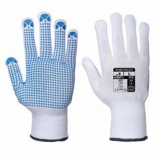 Nylon Polka Dot Enhanced Grip Glove - WGLA110-main