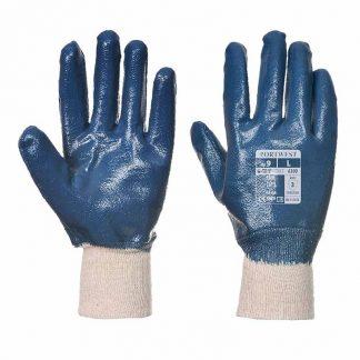 Fully Coated Nitrile Knitwrist Glove - WGLA300