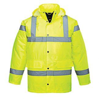 190g Hi-Vis Breathable Traffic Waterproof Jacket WJAA461
