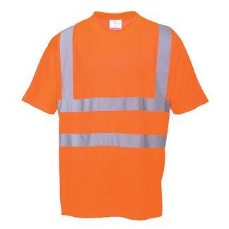 150g 100% Polyester Hi-Vis T-Shirt GO/RT - WTSA23R